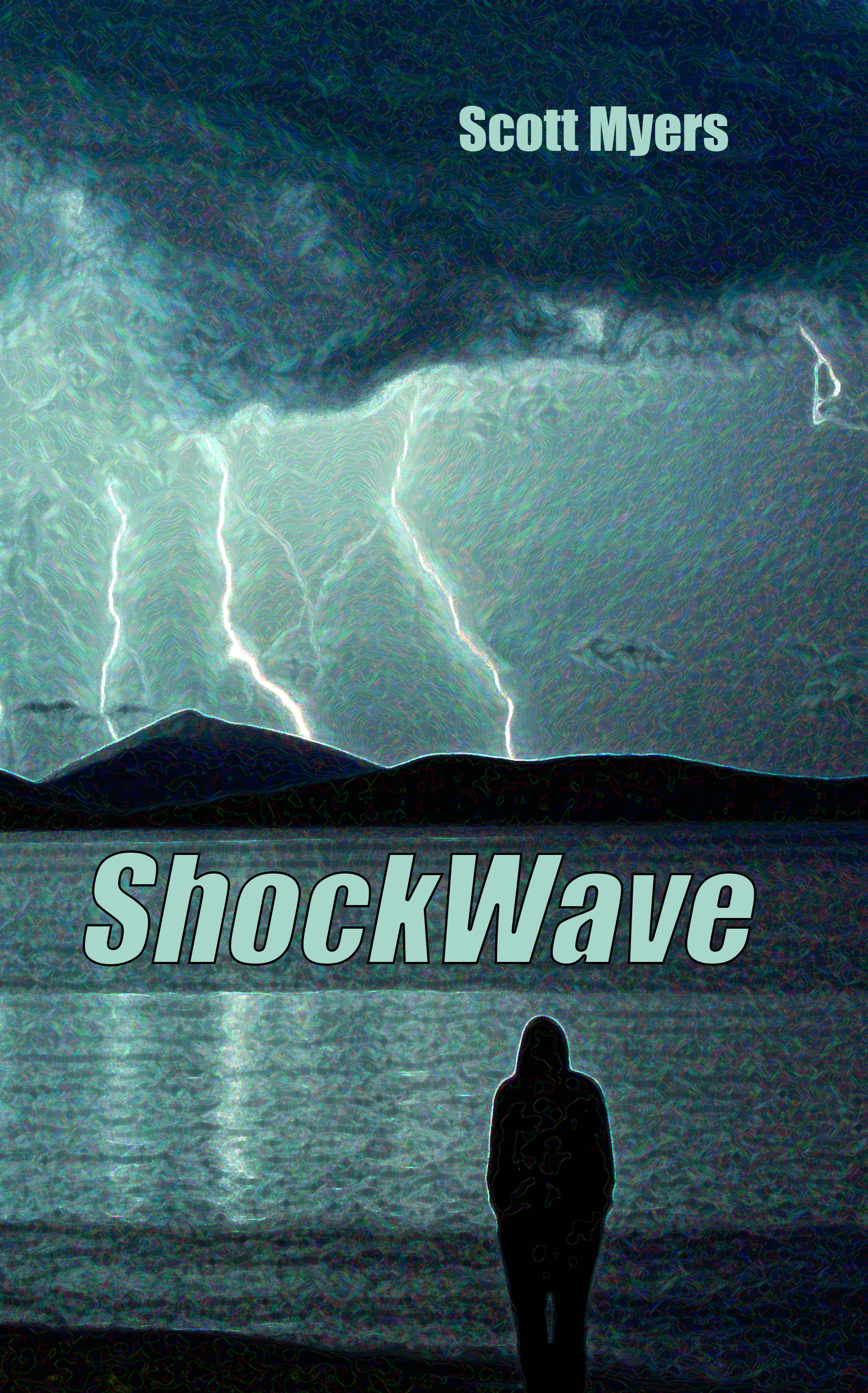 Front Cover of Scott's Book, 'ShockWave'